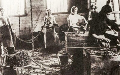 Chain Makers 1880s Black Country Birmingham